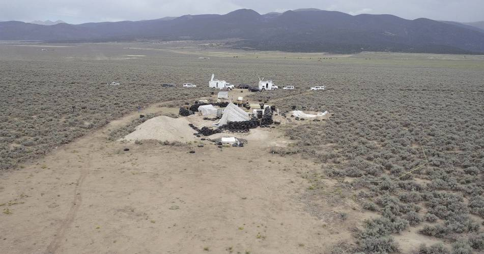 Image result for new mexico compound where children were abused august 2018