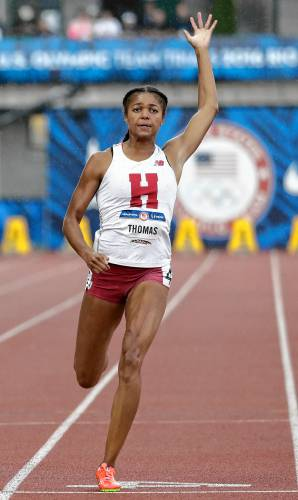 Florence native Gabby Thomas sets sights on NCAA 200-meter dash title