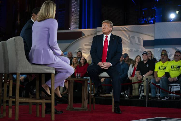 Trump Takes Questions In Tv Town Hall