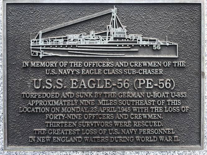 Warship sunk by German sub found off Maine coast