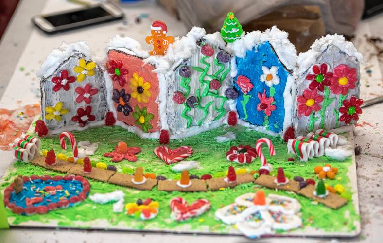 Photos: Gingerbread Build is edible architecture for a cause
