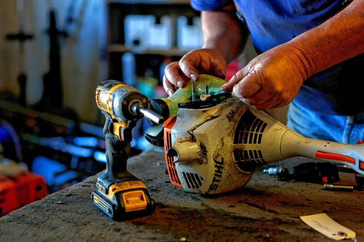 From lawn mowers to snowplows, small-engine repair shops
