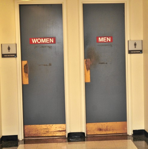 Protestors Demand Gender Neutral Bathrooms At Umass By Occupying Stalls At Administrative Building