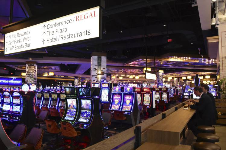 Mgm springfields casino revenue is helping other casinos in the region