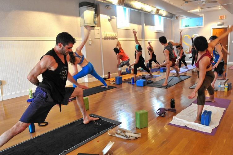 Yoga Sampler: Power vinyasa, pushing the body back to life