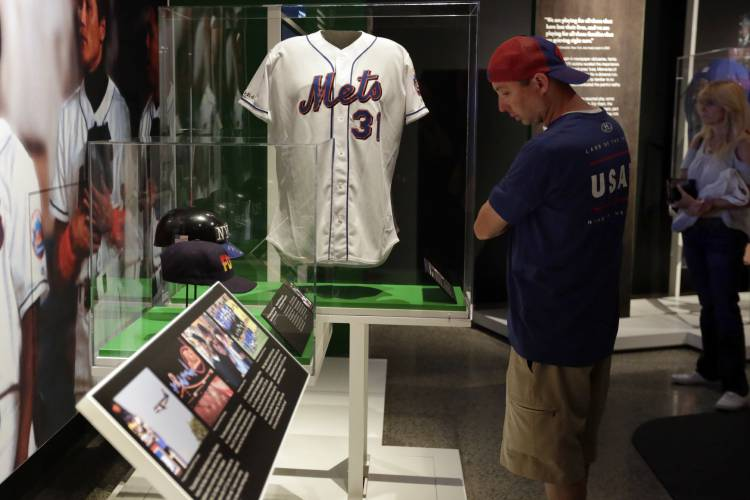 0692e8b4dbf Museum exhibit highlights impact of sports after 9 11