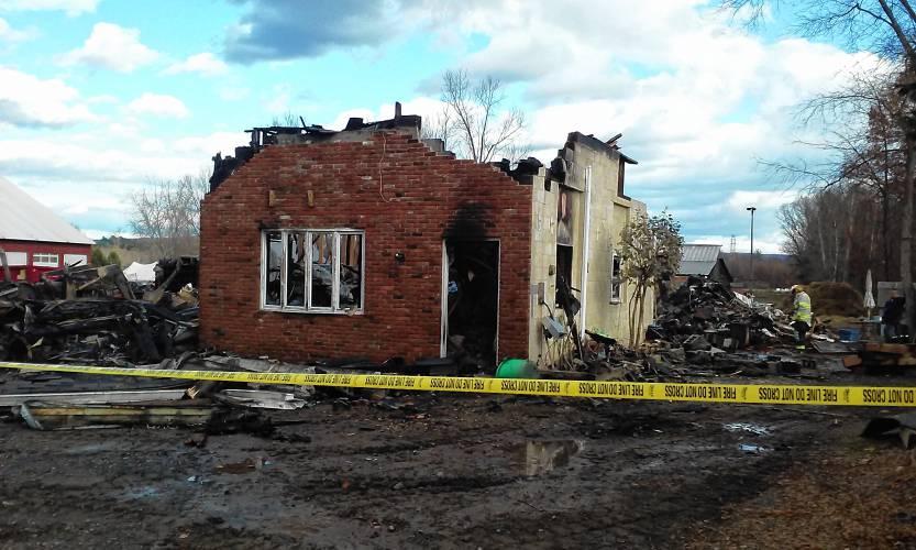 Fire destroys Amherst horse barn, apartment; 3 horses perish