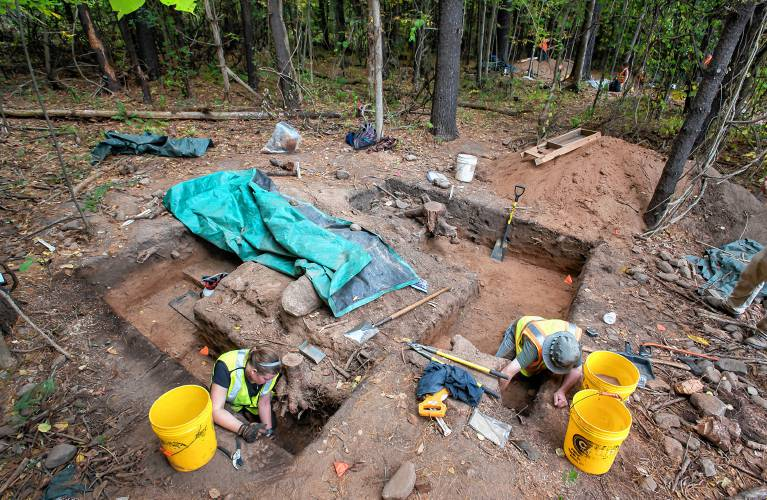 Roundabout Project Triggers Big Dig At Site Dating Back 8,000-Plus Years-6212