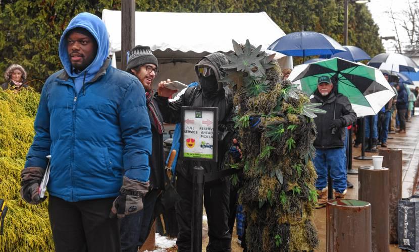 Recreational marijuana sales top $2 2M in first 5 days