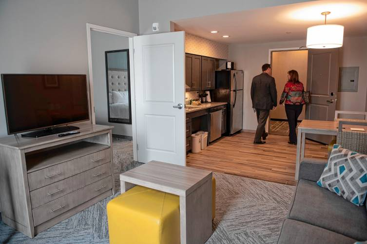 First county extended-stay hotel opens